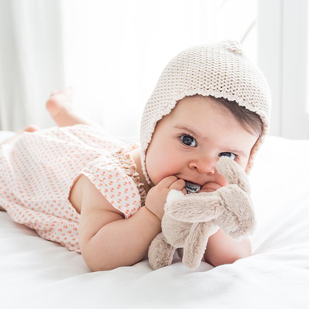 Mila Plumeti shooting bébé
