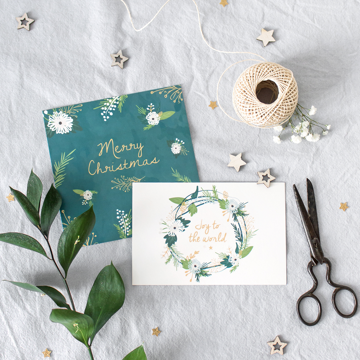 Christmas Cards - Papeterie - Illustration - Charlène Roudier
