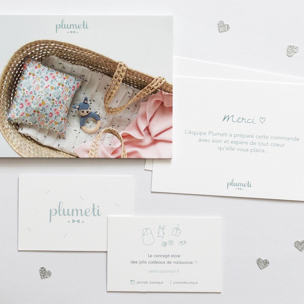 Papetertie Plumeti - Papeterie - Graphisme - Création - Charlène Roudier